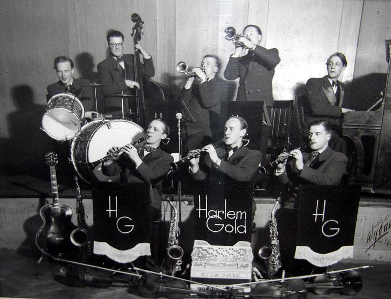 KVICKSOUND - presenterar - H A R L E M G O L D - Dansorkester från ...